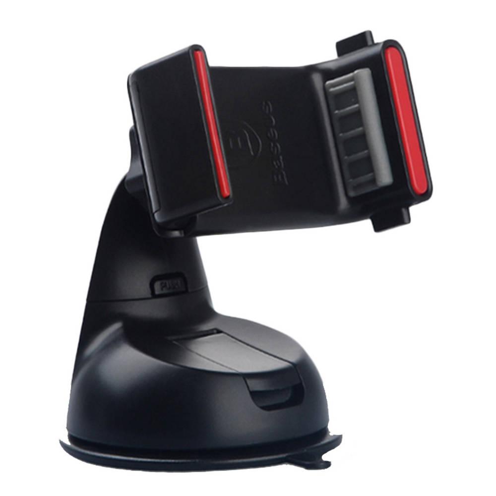 """Βάση Στήριξης Αυτοκινήτου Baseus Super Μαύρη για Smartphone έως 6"""" Ίντσες"""