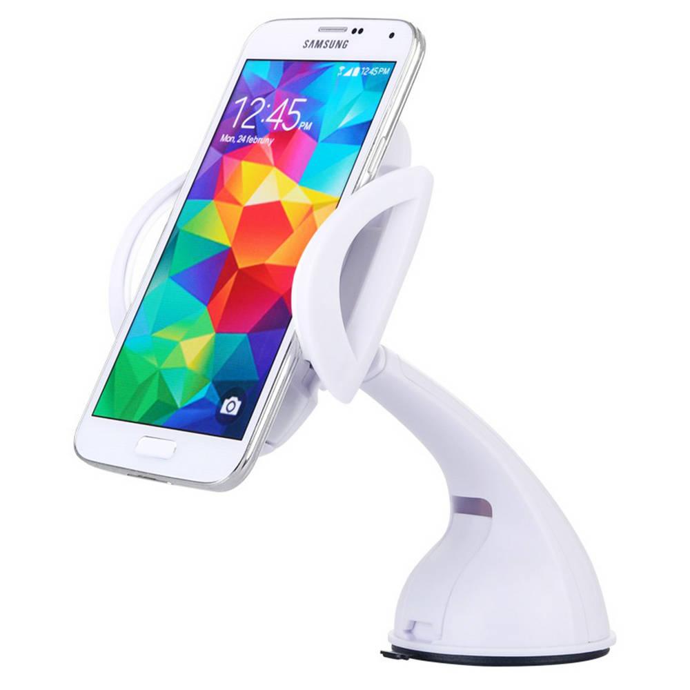 """Βάση Στήριξης Αυτοκινήτου Baseus Motion Λευκή για Smartphone έως 6"""" Ίντσες"""