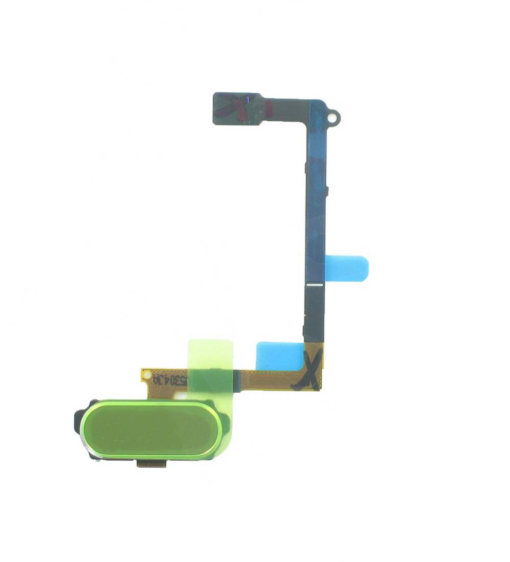 Σέτ Κεντρικού Πλήκτρου Samsung SM-G920F Galaxy S6 Χρυσαφί Original GH96-08166C