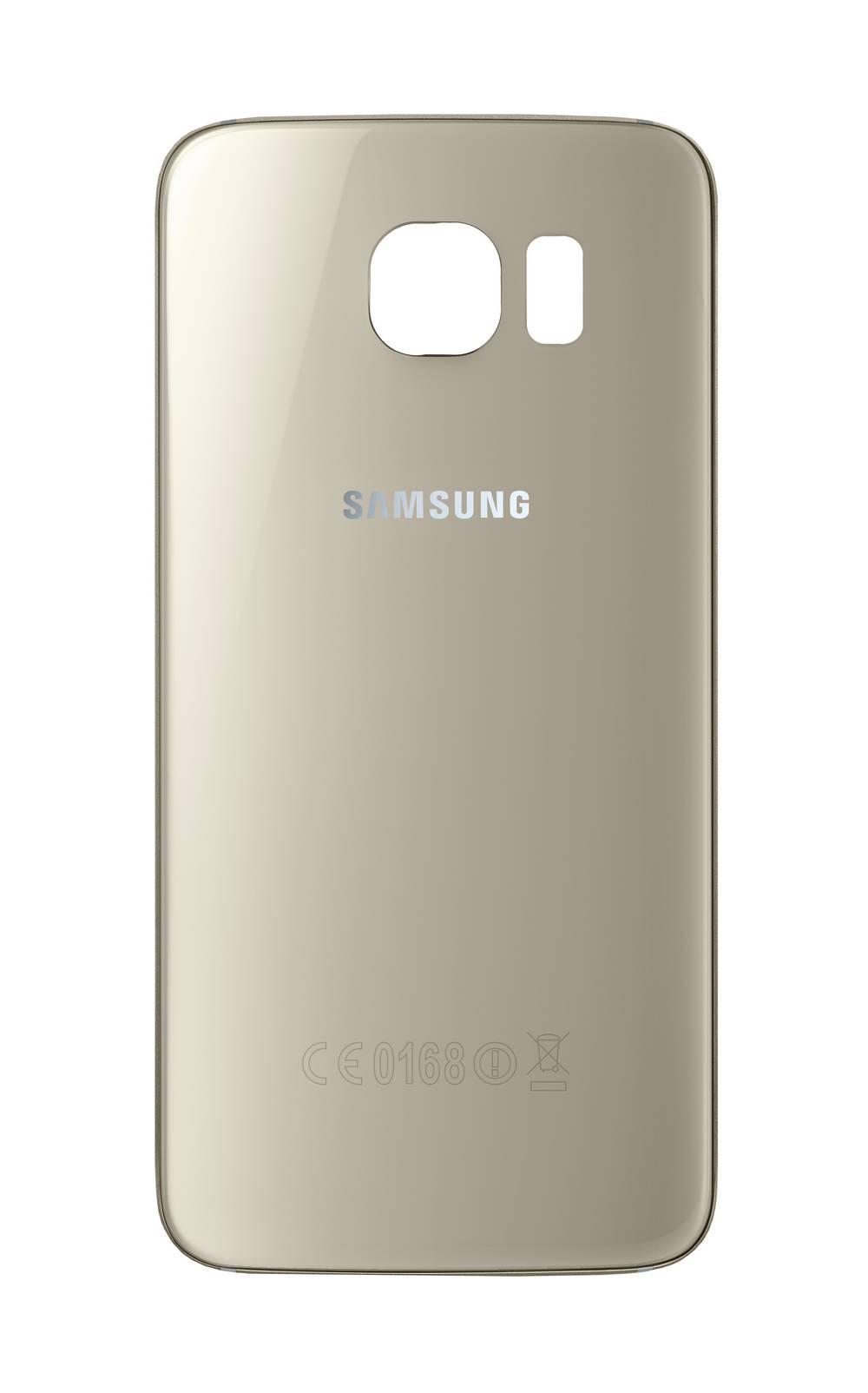 Καπάκι Μπαταρίας Samsung SM-G925F Galaxy S6 Edge Χρυσαφί Original GH82-09602C