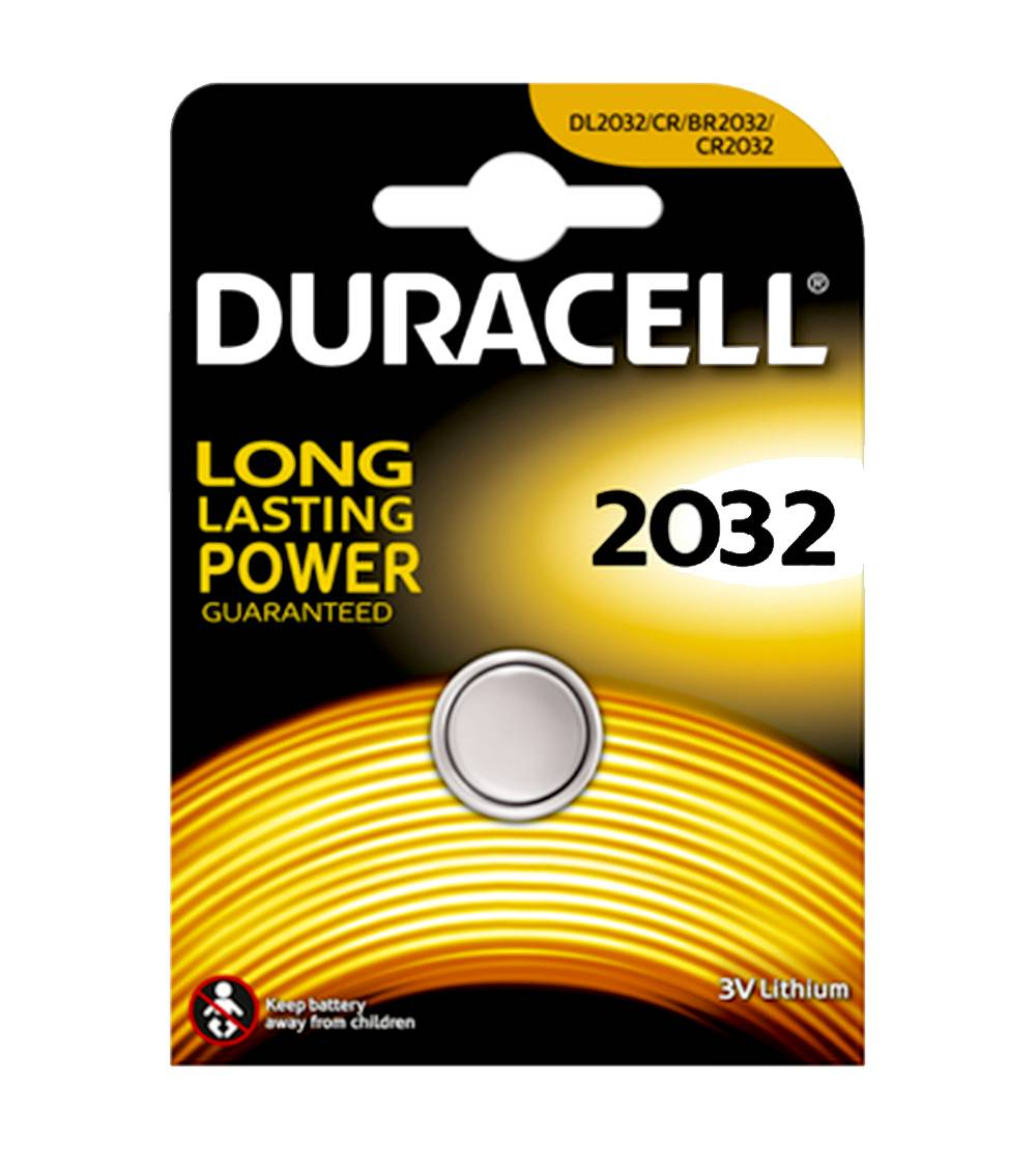 Buttoncell Duracell CR2032 Τεμ. 1