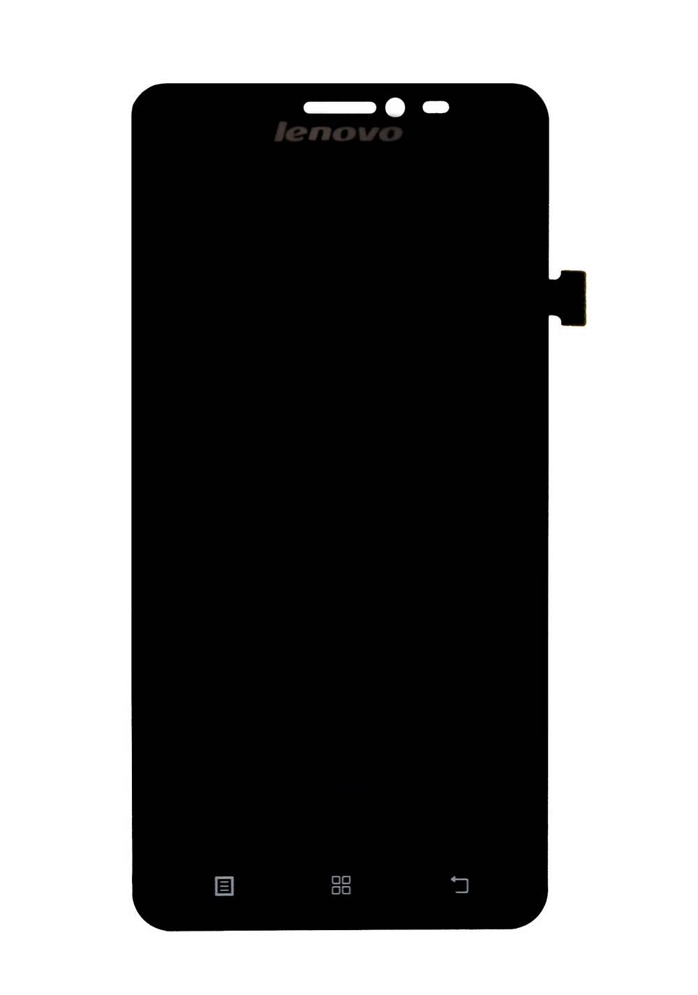 Γνήσια Οθόνη & Μηχανισμός Αφής Lenovo S850 Μαύρο