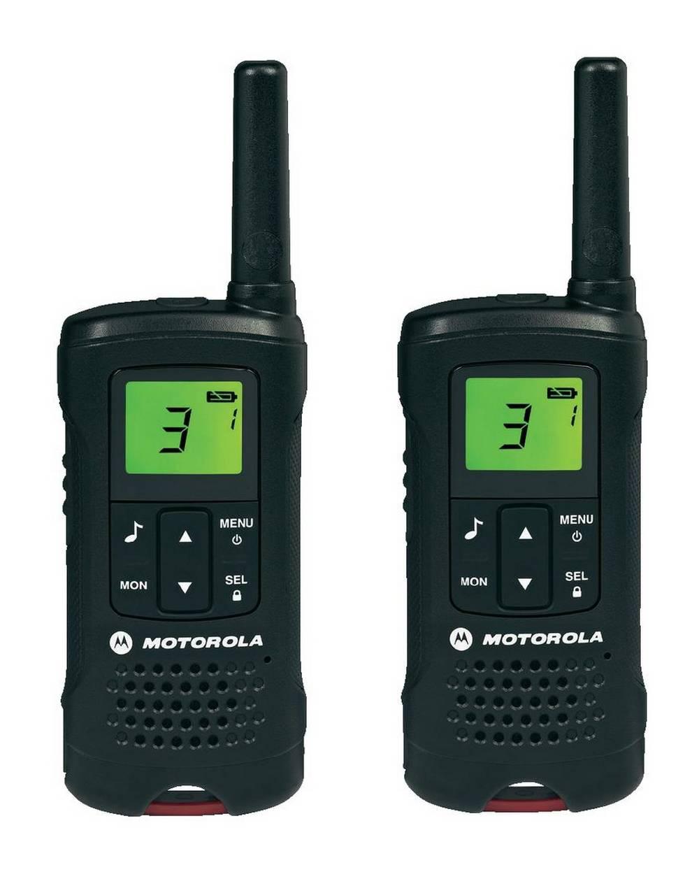 Walkie Talkie Motorola PMR T60 Μαύρο με υποδοχή Hands Free   Εύρος Κάλυψης 8 km