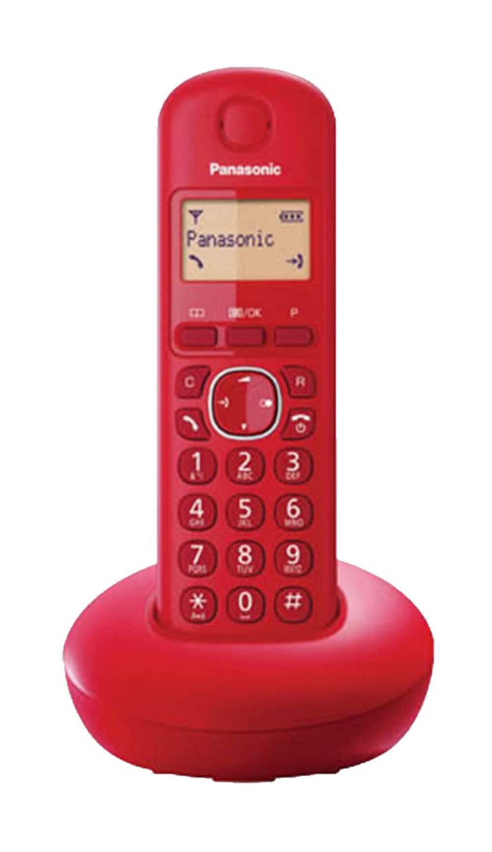 Ασύρματο Ψηφιακό Τηλέφωνο Panasonic KX-TGB210GRR Κόκκινο