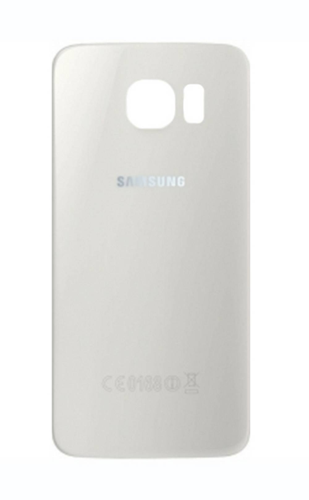 Καπάκι Μπαταρίας Samsung SM-G920F Galaxy S6 Λευκό GH82-09825B