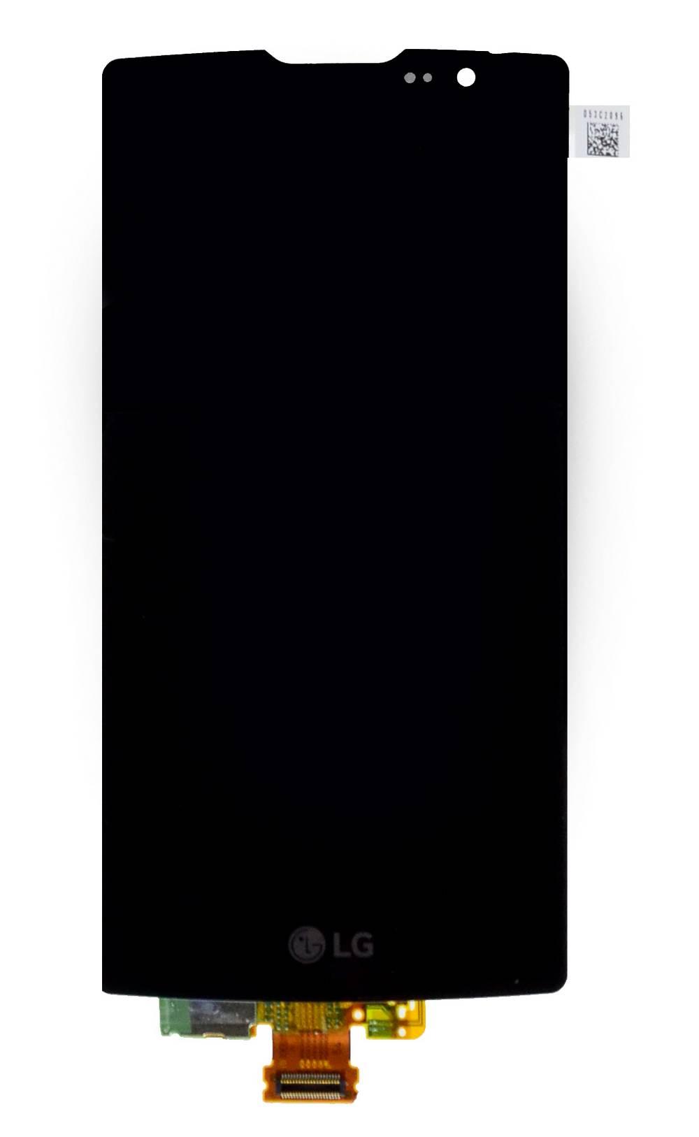 Γνήσια Οθόνη & Μηχανισμός Αφής LG Spirit H420/ H440 4G LTE Μαύρο χωρίς Πλαίσιο, Κόλλα