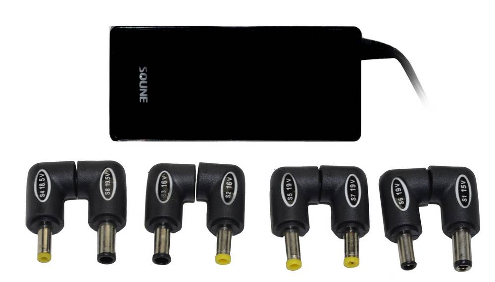 Φορτιστής Laptop - Tablet Soune K6S Universal 100W με Έξοδο Usb Μαύρο