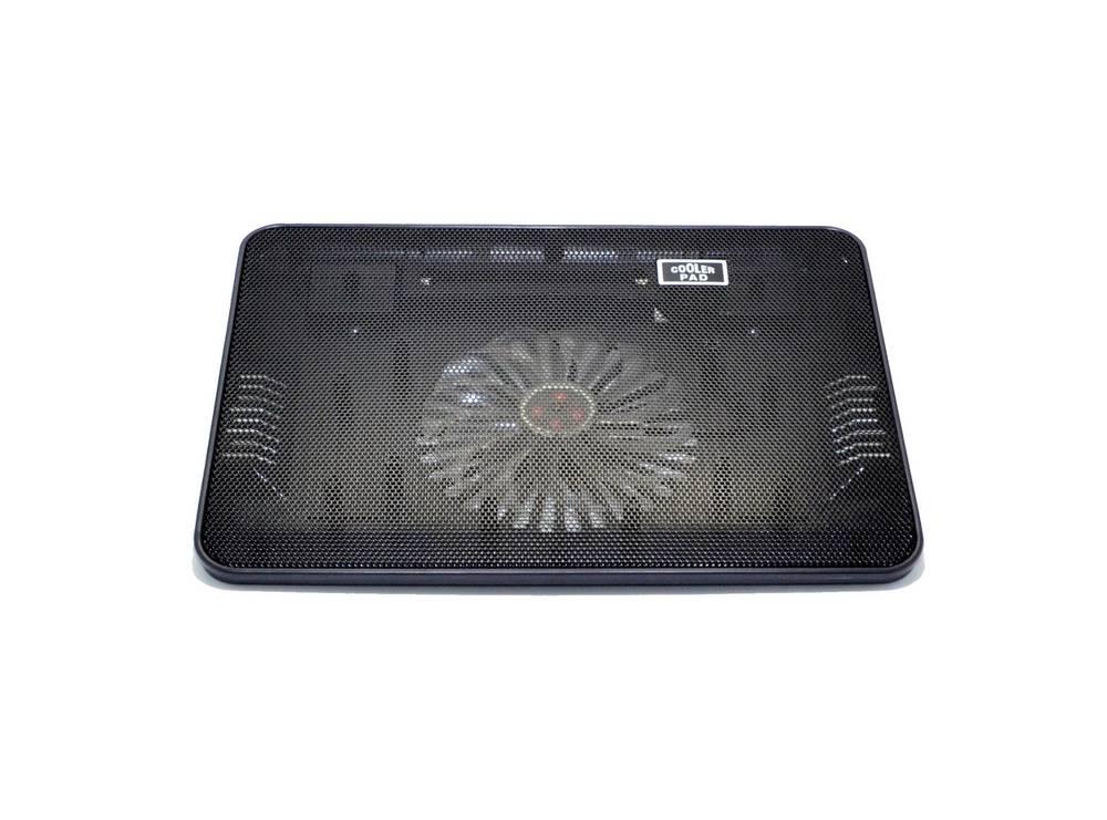 """Laptop Cooler Mobilis Cooling Pad A6 Μαύρο για Φορητούς Υπολογιστές έως 15"""""""
