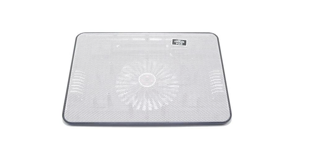 """Laptop Cooler Mobilis Cooling Pad A6 Λευκό για Φορητούς Υπολογιστές έως 15"""""""