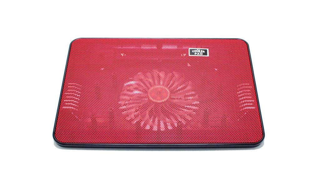 "Laptop Cooler Mobilis Cooling Pad A6 Κόκκινο για Φορητούς Υπολογιστές έως 15"""