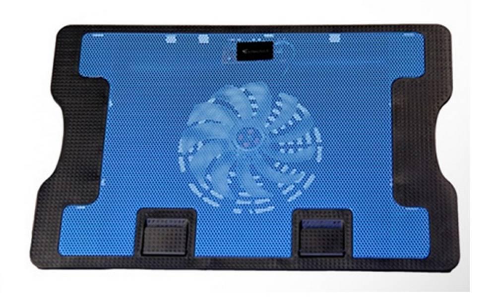 """Laptop Cooler Mobilis Cooling Pad 638 (A) Μπλέ για Φορητούς Υπολογιστές έως 17"""""""