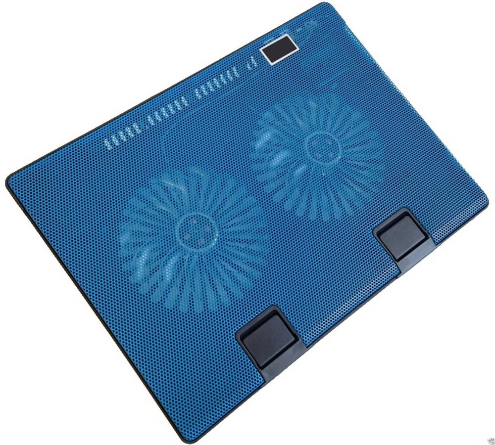 """Laptop Cooler Mobilis Cooling Pad 668 Μπλέ για Φορητούς Υπολογιστές έως 17"""""""
