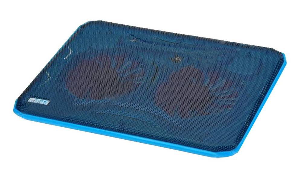 "Laptop Cooler CoolCold Ice Thin K19 Μπλέ για Φορητούς Υπολογιστές έως 17"""