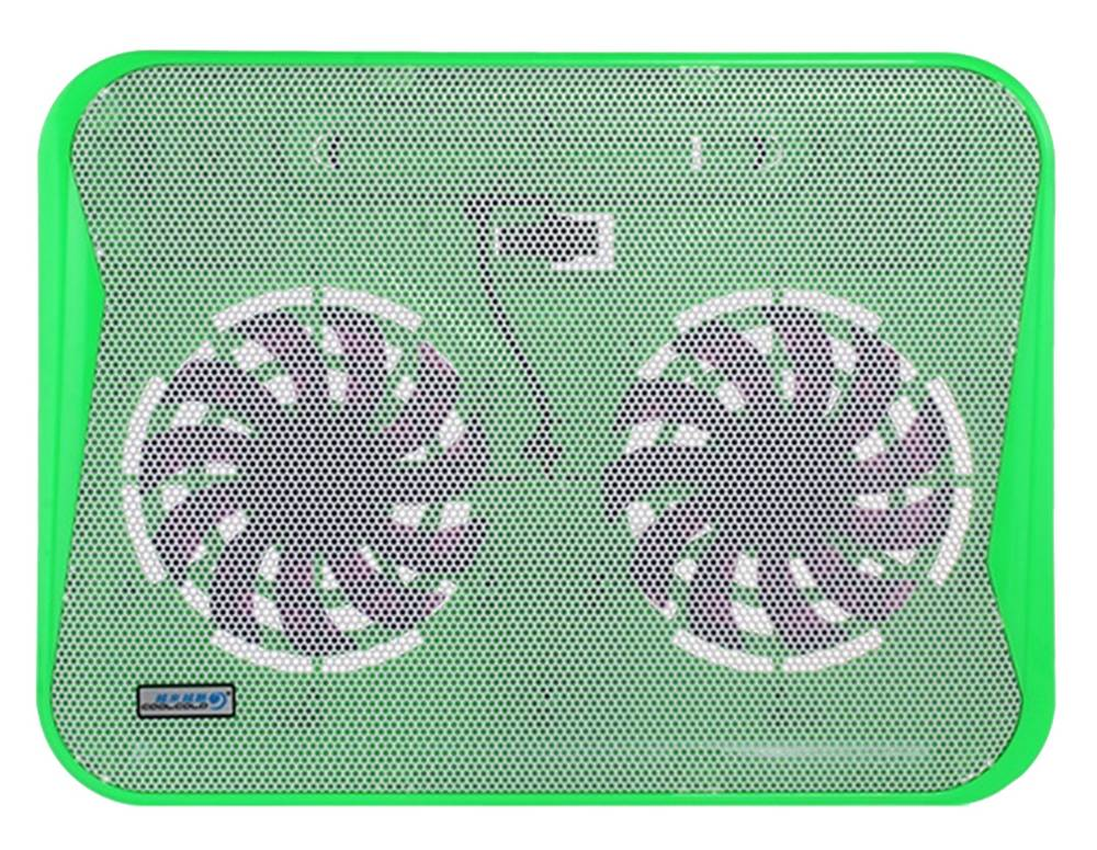"Laptop Cooler CoolCold Ice Thin K19 Πράσινο για Φορητούς Υπολογιστές έως 17"""