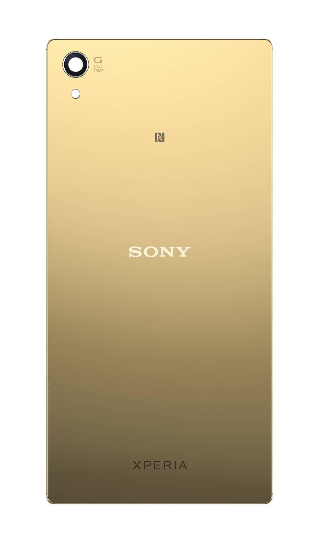 Καπάκι Μπαταρίας Sony Xperia Z5 E6603/E6653/Z5 Dual E6633/E6683 Χρυσαφί Original 1295-1378