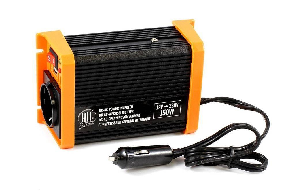 Μετασχηματιστής Ρεύματος All Ride 12V / 230V 150W + USB