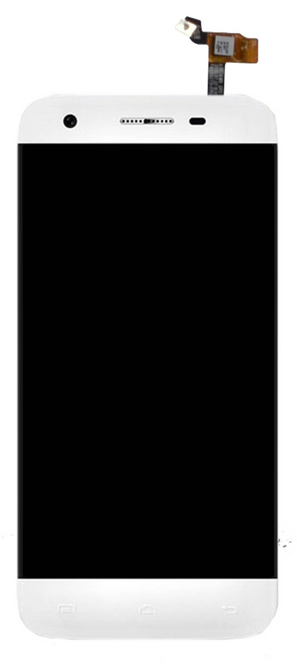 Γνήσια Οθόνη & Μηχανισμός Αφής Doogee F3 Pro Λευκό χωρίς Κόλλα