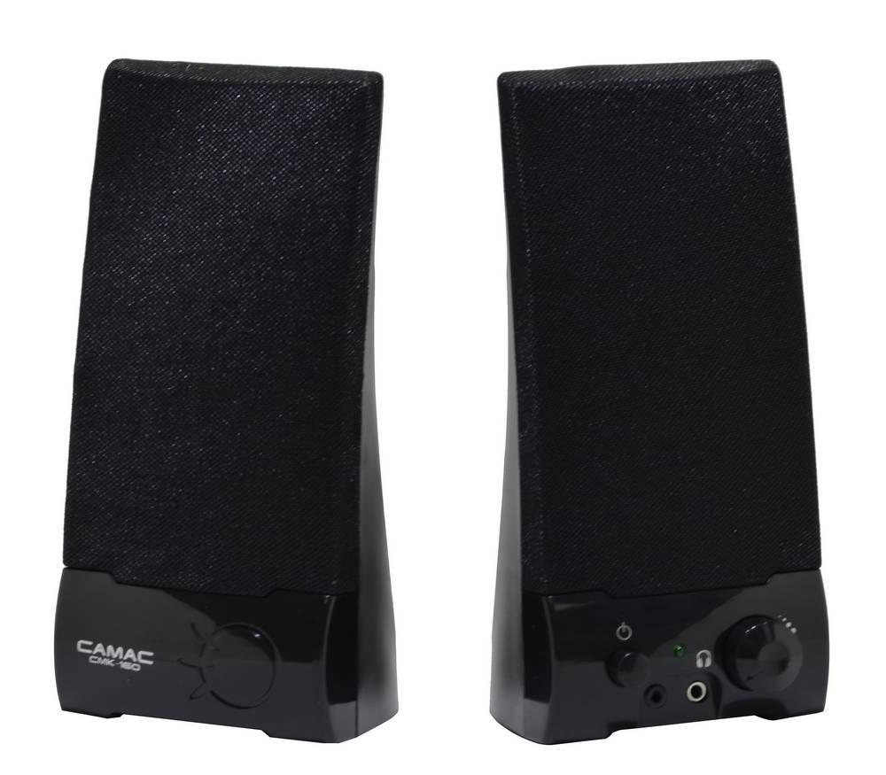 Ηχείο Stereo Camac CMK-160 2Wx2 RMS Μαύρο με Τροφοδοσία USB 19x8.5x9mm