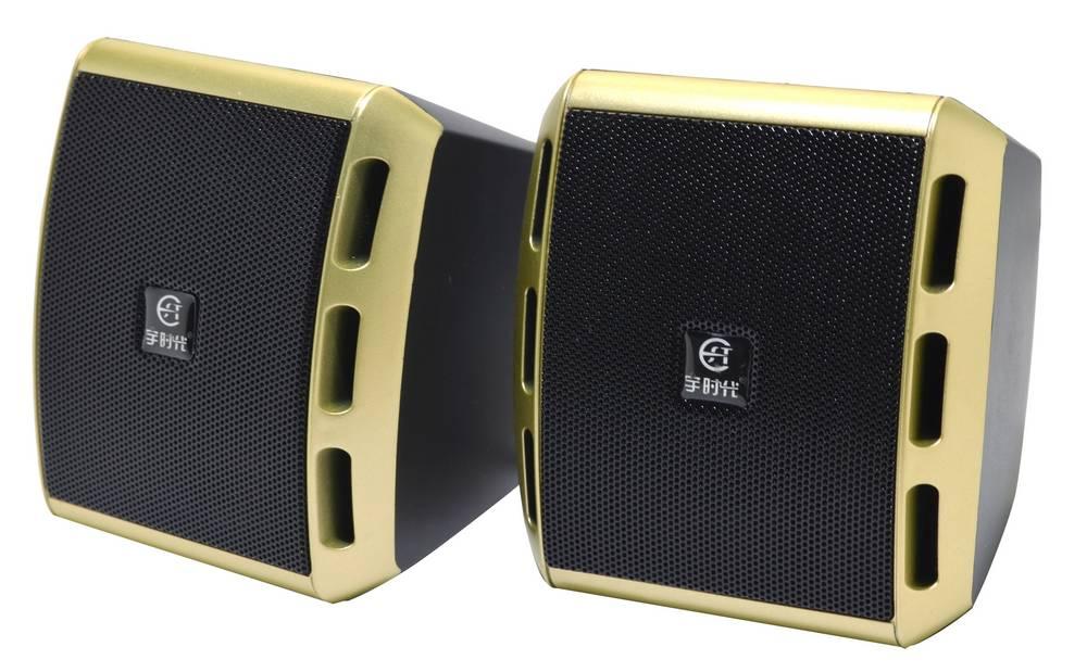 Ηχείο Stereo Epoch V-27 3Wx2 RMS Μαύρο με Τροφοδοσία USB 10x9x8.5cm