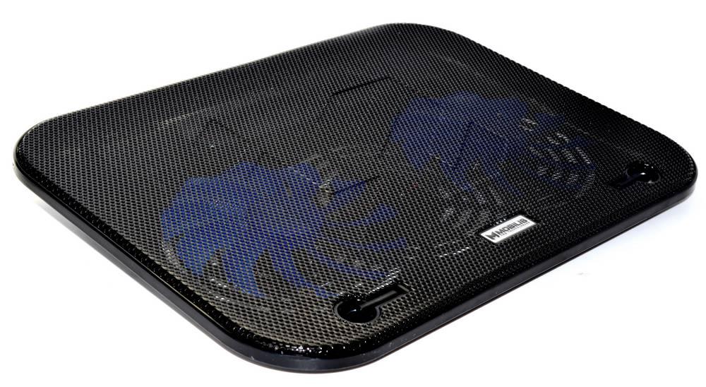 """Laptop Cooler Mobilis F3 Μαύρο για Φορητούς Υπολογιστές έως 15.6"""""""