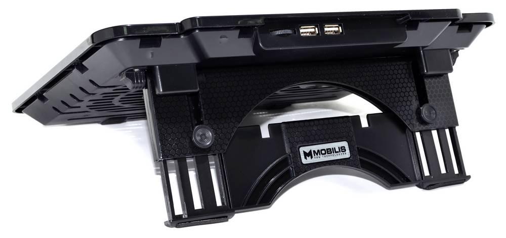 """Laptop Cooler Mobilis K24 Μαύρο για Φορητούς Υπολογιστές έως 15.6"""""""