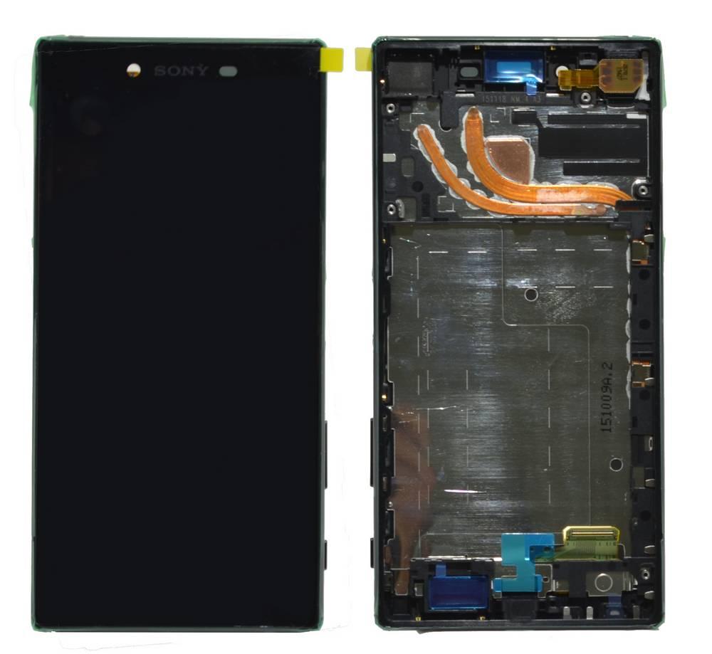 Γνήσια Οθόνη & Μηχανισμός Αφής Sony Xperia Z5 Premium E6853 Μαύρο 1299-0613
