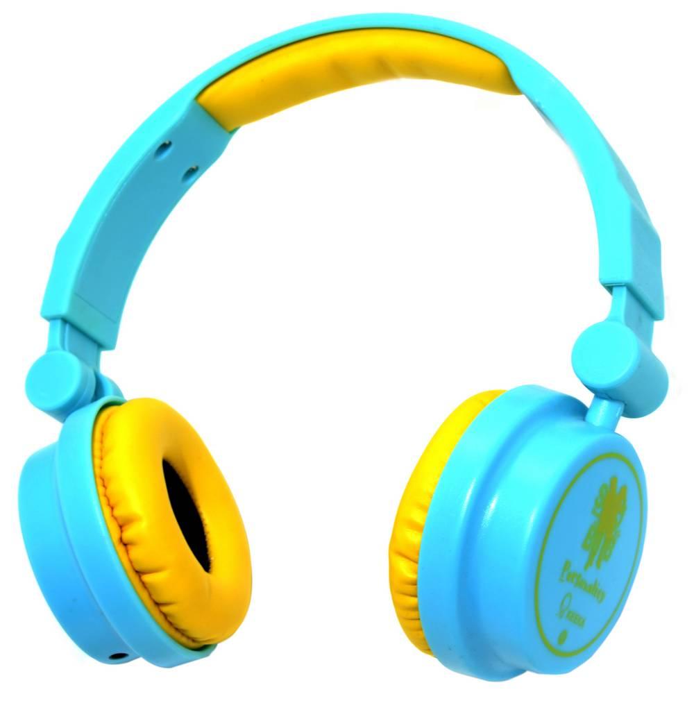 Ακουστικά Stereo Keeka KE-600 40mm 3.5 mm Μπλέ για mp3, mp4 και Συσκευές Ήχου