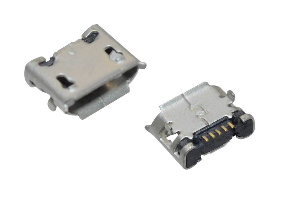 Επαφή Φόρτισης Universal Micro Usb 5-pin για Tablet, Κινητά (0.7cm x 0.5cm)