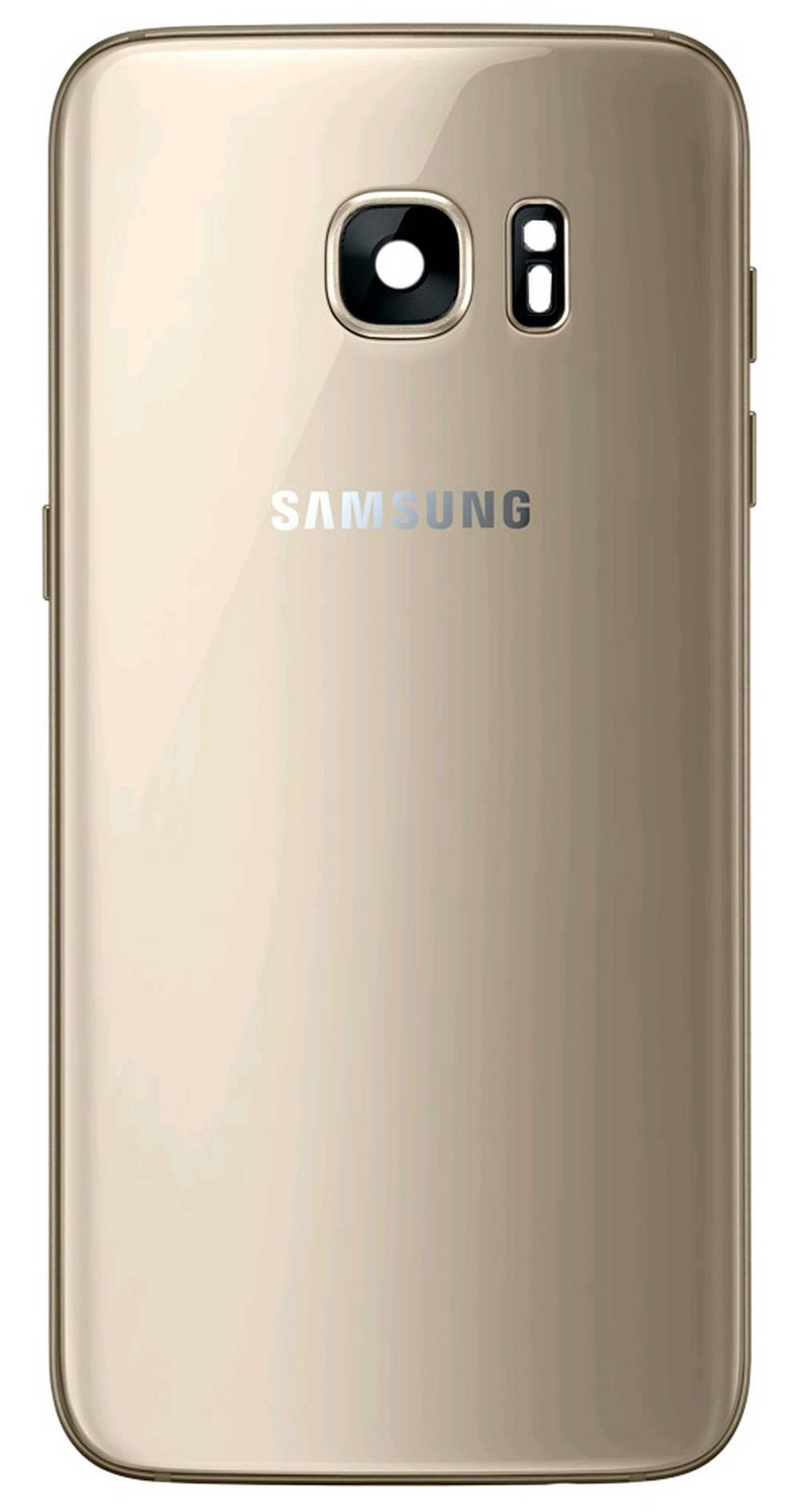 Καπάκι Μπαταρίας Samsung SM-G935F Galaxy S7 Edge Χρυσαφί Original GH82-11346C