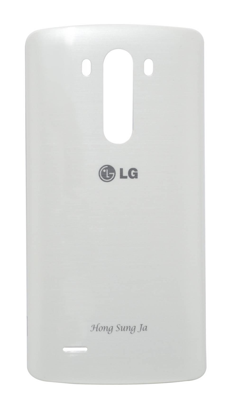 Καπάκι Μπαταρίας LG G3 D855 Λευκό με Κεραία NFC OEM Type A