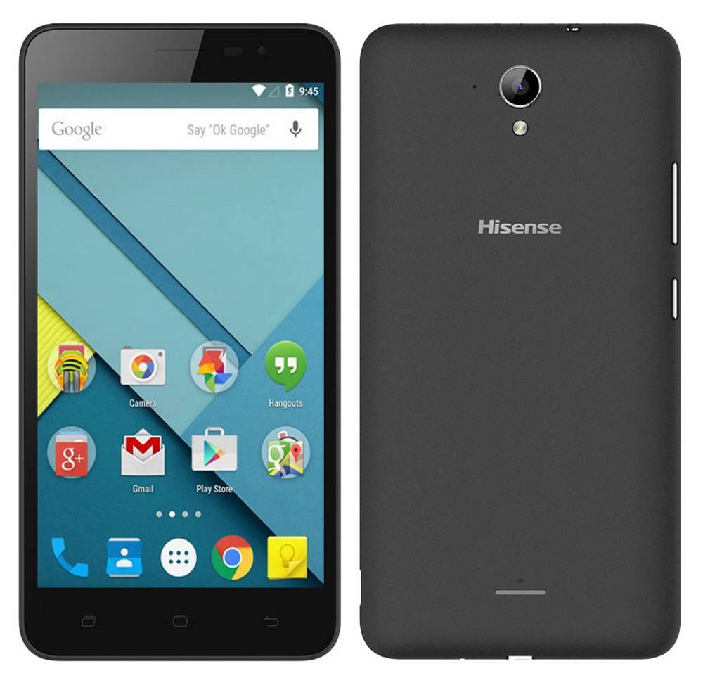 "Hisense F20 4G LTE (Dual SIM) 5.5"" Android 5.1 1280*720 IPS Quad-Core 1 GHz 1GB RAM 8GB Μαύρο"