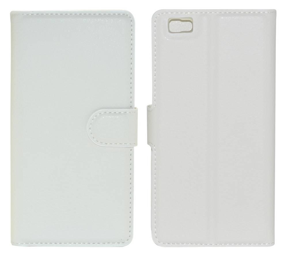 Θήκη Book Ancus Teneo για Huawei Ascend P8 Lite TPU Λευκή