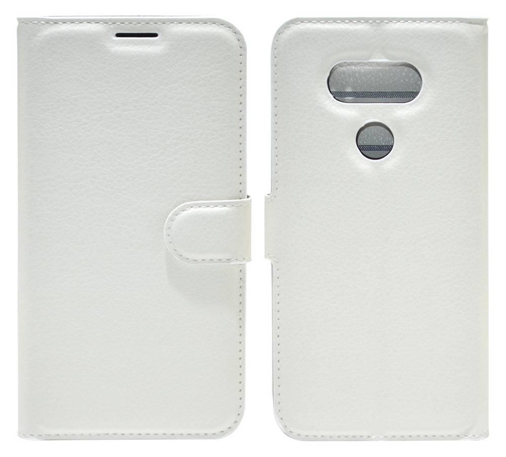 Θήκη Book Ancus Teneo για LG G5 H850 TPU Λευκή