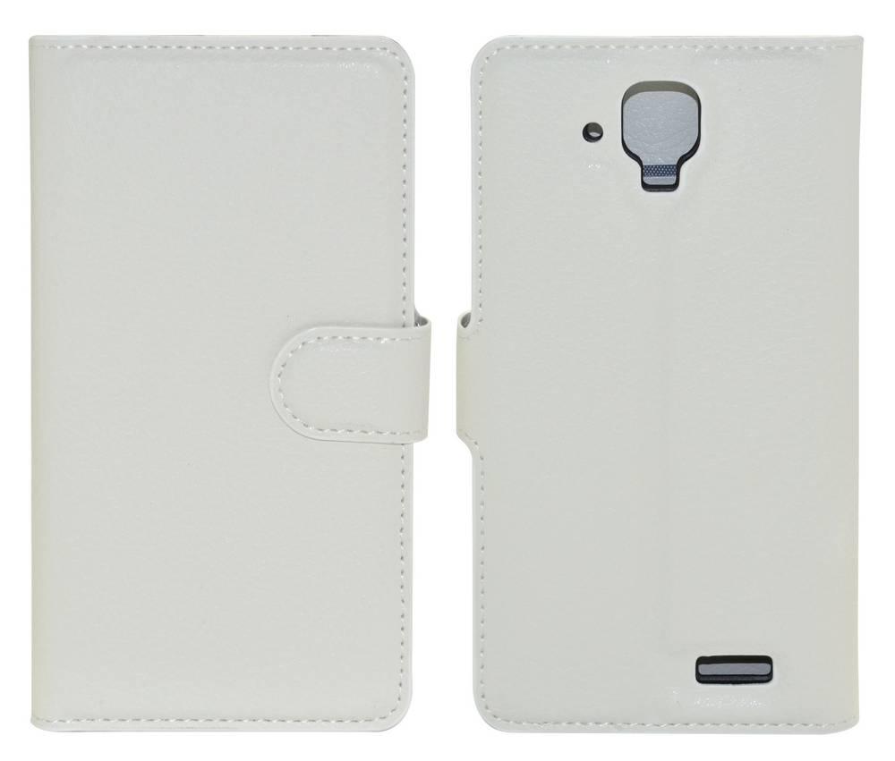 Θήκη Book Ancus Teneo για Lenovo A536 Λευκή