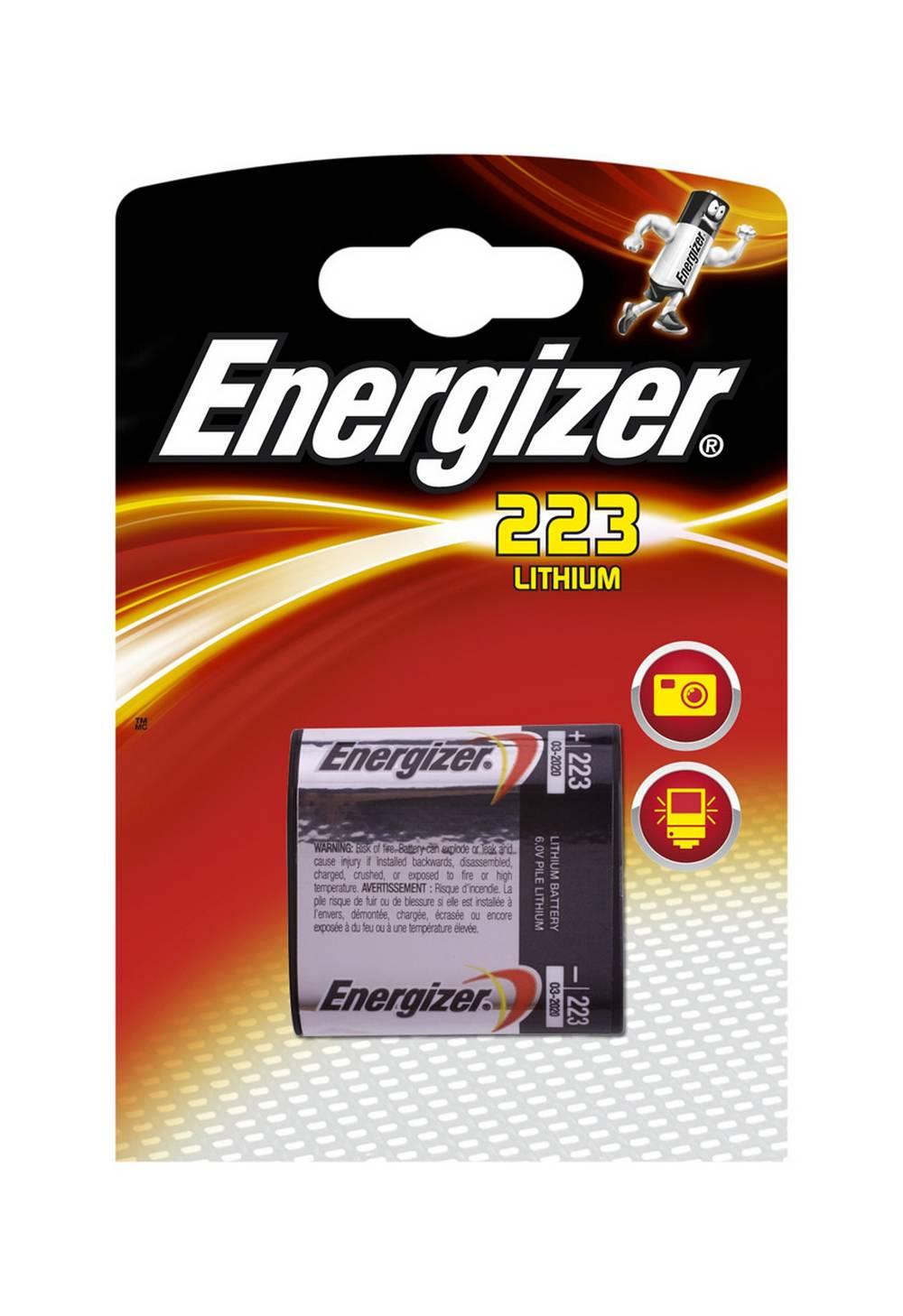 Μπαταρία Lithium Energizer 223 6V Τεμ. 1