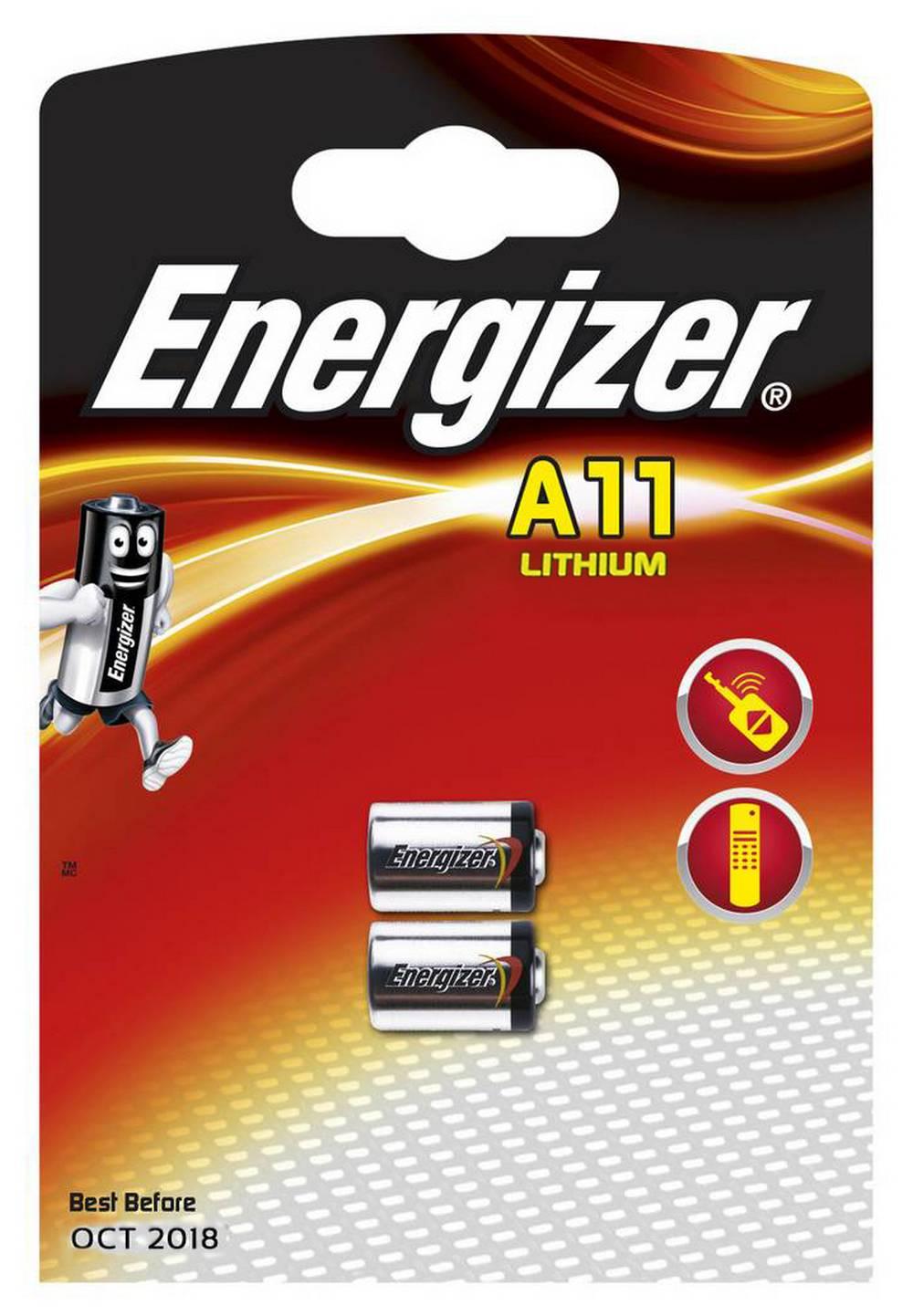 Μπαταρία Lithium Energizer Α11 6V Τεμ. 2