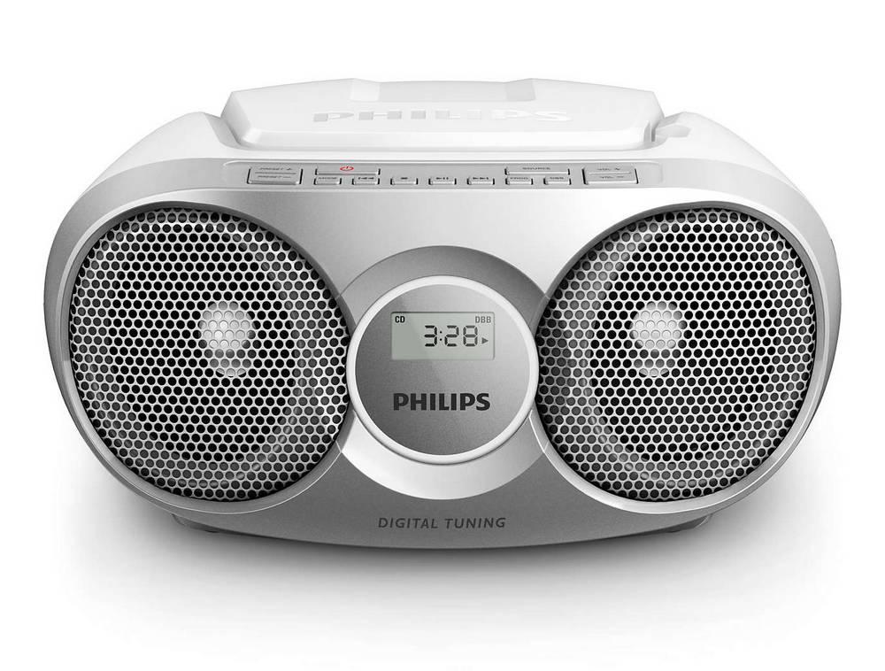 Φορητό Ράδιο CD Philips AZ215S/12 Ασημί