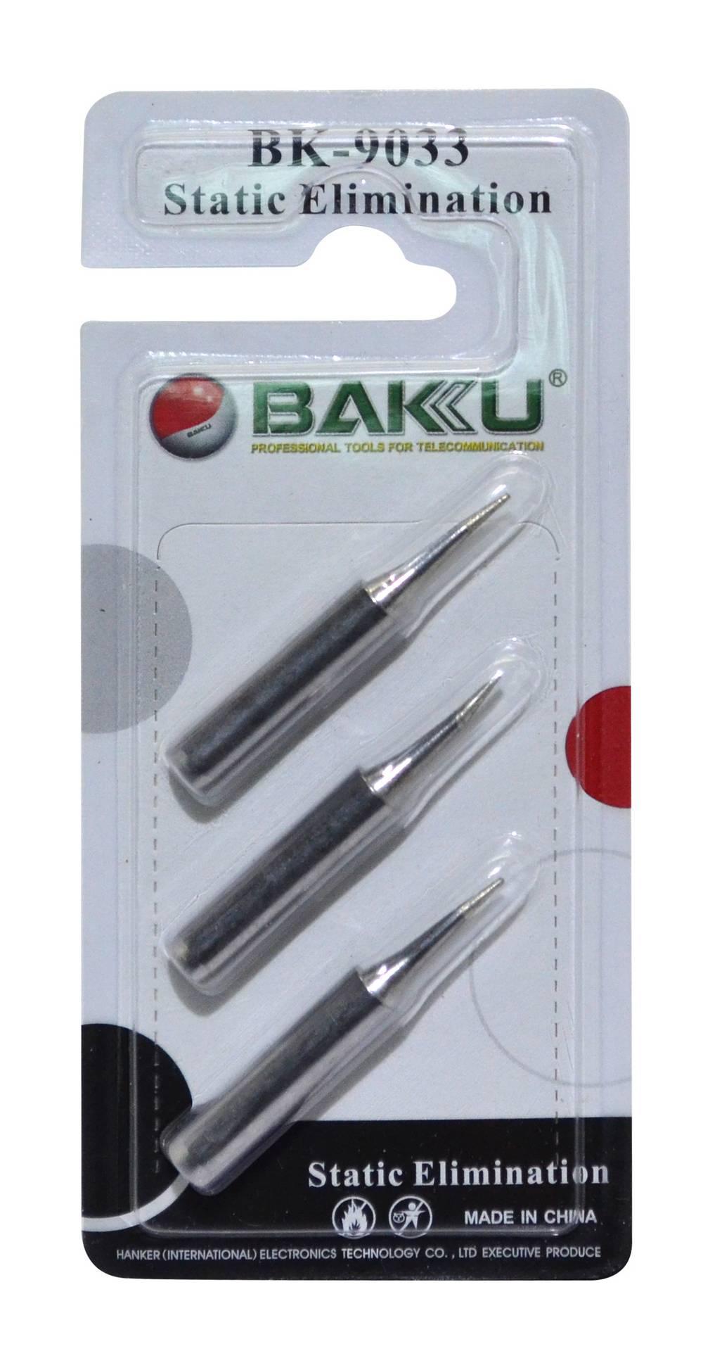 Σέτ Μύτες για Κολλητήρι Bakku 900M-T-S 3 Τεμάχια