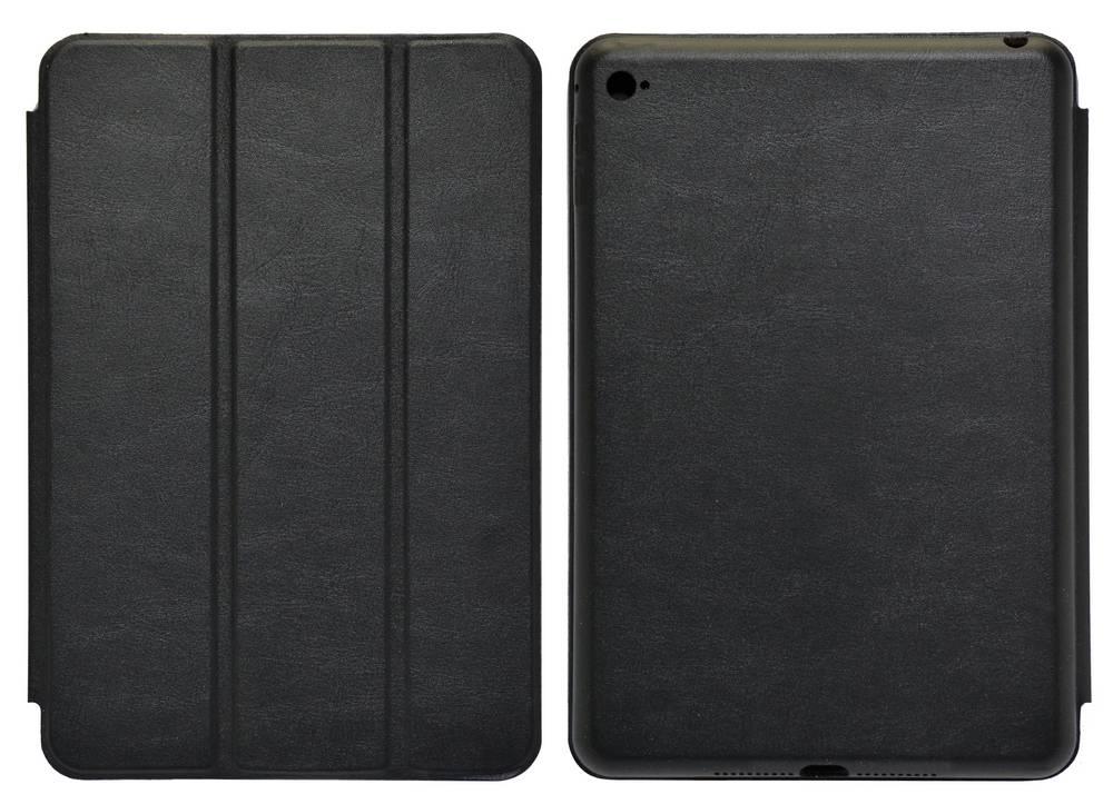 Θήκη Smart Ancus για Apple iPad Mini 4 με Πίσω Κάλυμμα Μαύρη Δερματίνη