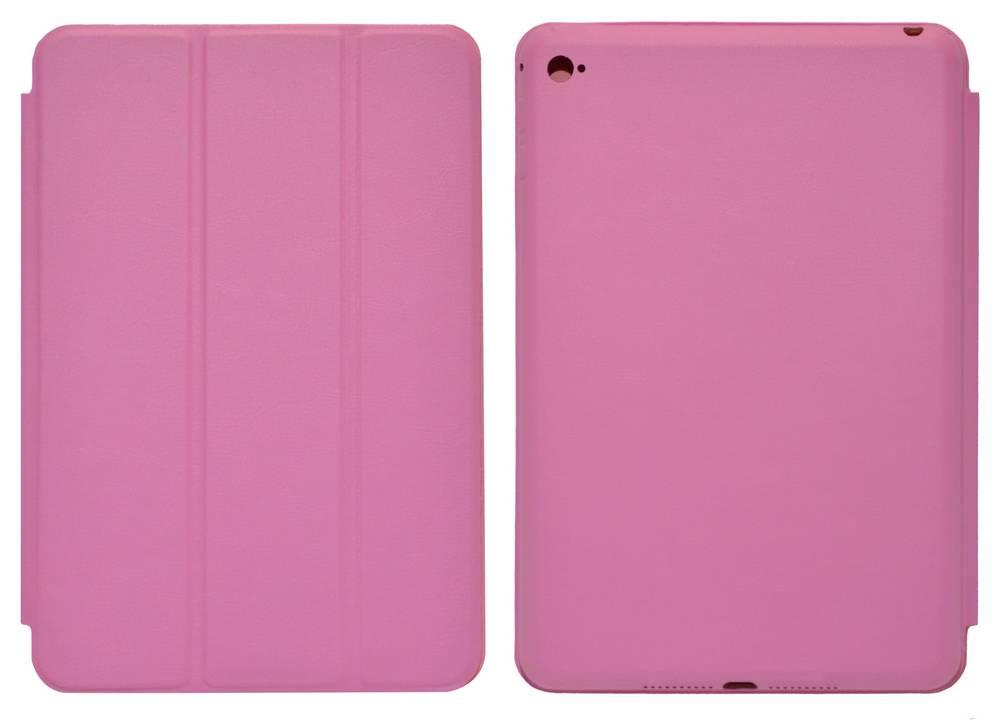 Θήκη Smart Ancus για Apple iPad Mini 4 με Πίσω Κάλυμμα Ρόζ Δερματίνη