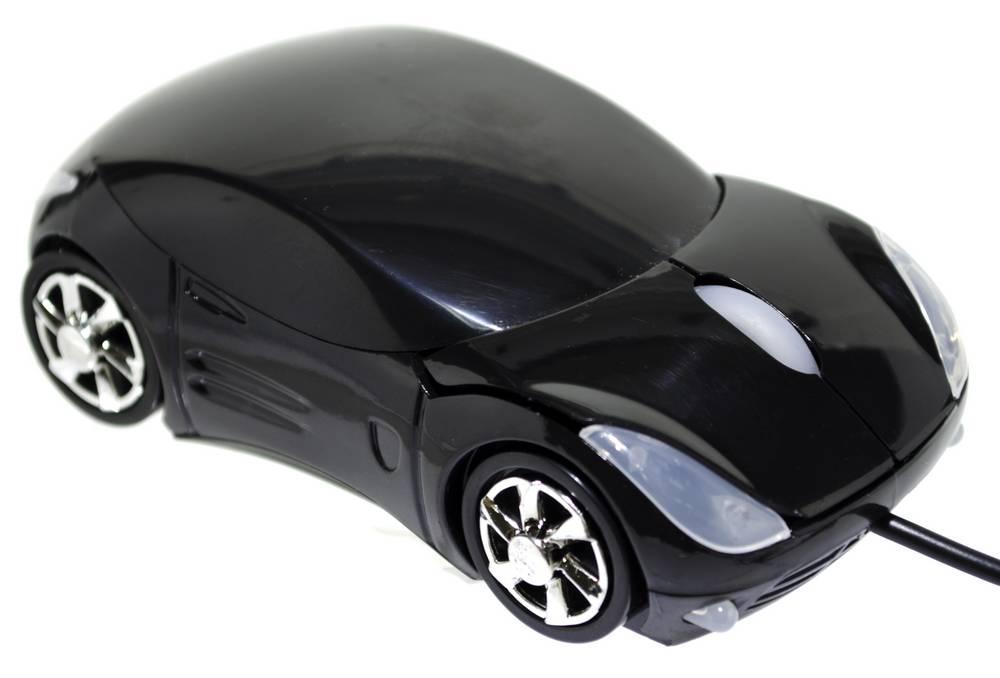 Ενσύρματο Ποντίκι Mobilis Car AA-07 3 Πλήκτρων 1200 DPI Μαύρο (100*50*35mm)