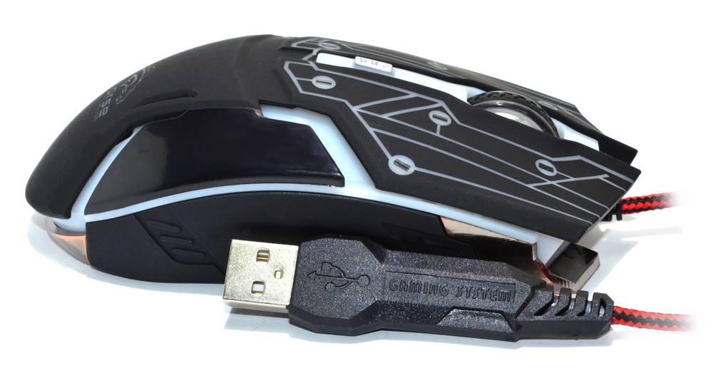 Ενσύρματο Ποντίκι R-horse RH-1990 Robocop Series 5 Πλήκτρων 3200 DPI Μαύρο - Γκρί (120*70*35mm)