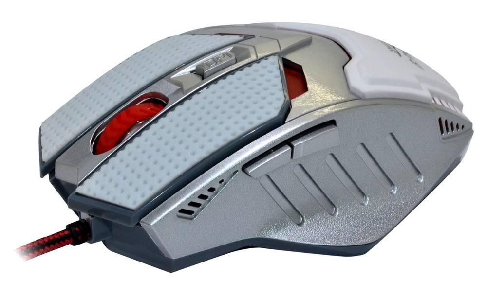 Ενσύρματο Ποντίκι R-horse FC-1591 Game Series 5 Πλήκτρων 3200 DPI Λευκό - Ασημί (120*80*35mm)