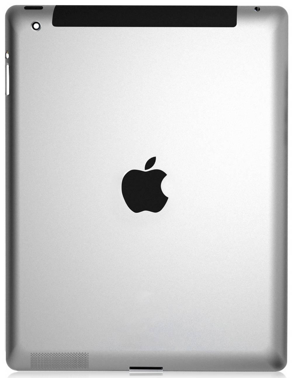 Πίσω Κάλυμμα Apple iPad 3 4G Ασημί OEM Type A