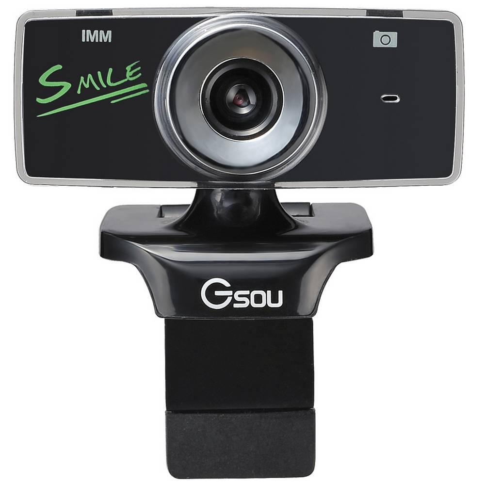 USB Webcam Gsou B18s 1.3 MP Μαύρη