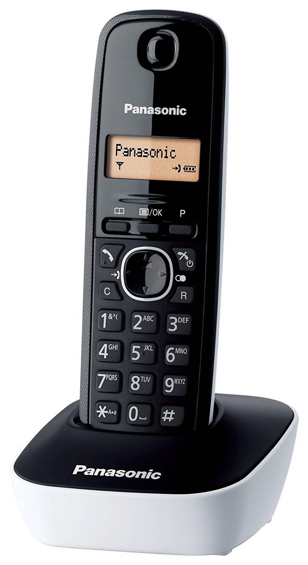 Ασύρματο Ψηφιακό Τηλέφωνο Panasonic KX-TG1611 (EU) Μαύρο-Λευκό
