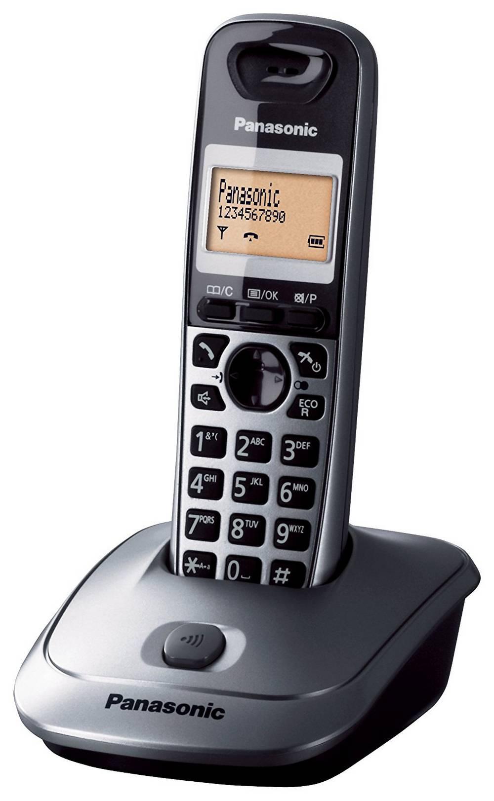 Ασύρματο Ψηφιακό Τηλέφωνο Panasonic KX-TG2511 (EU) Ασημί