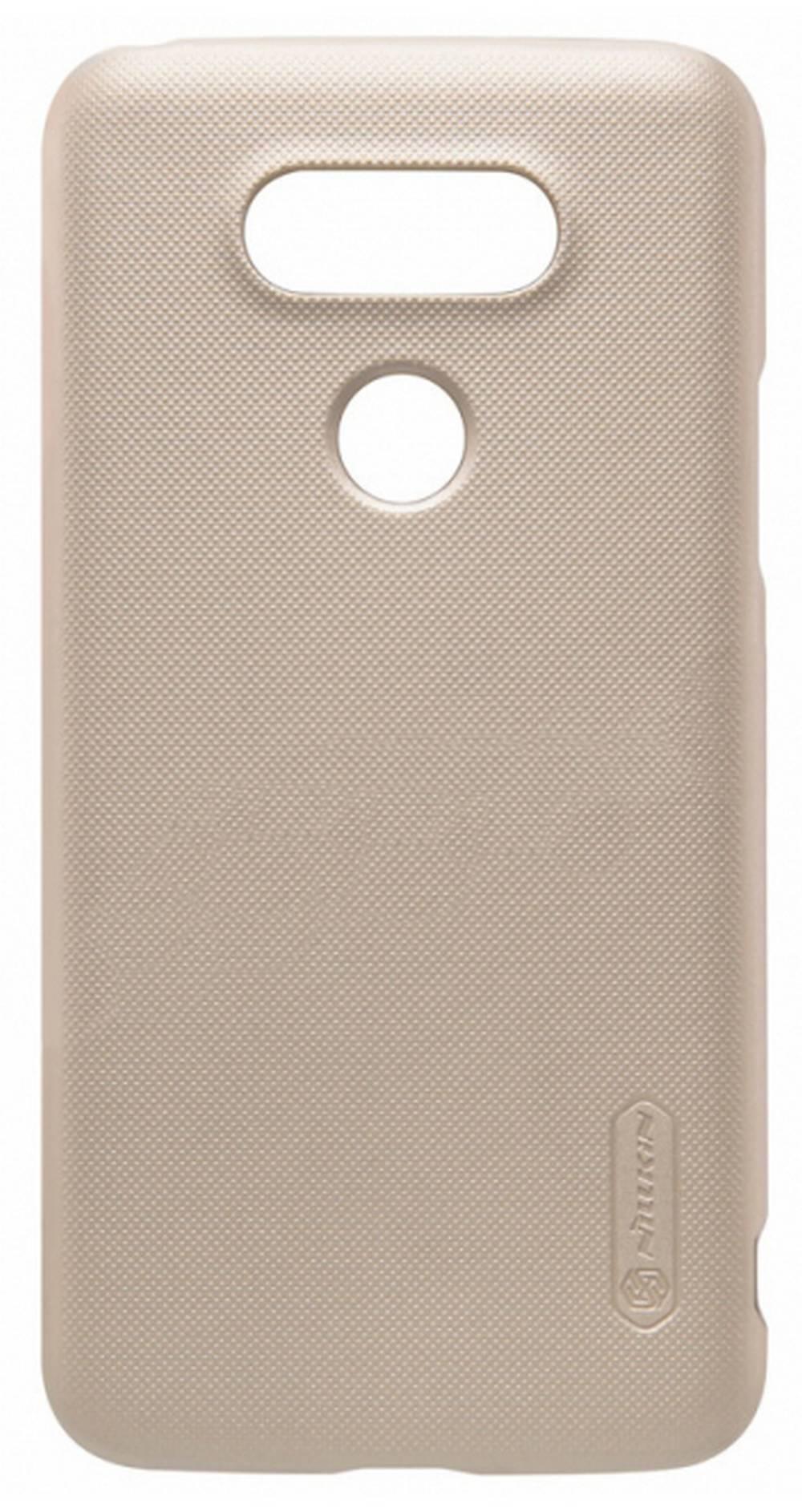 Θήκη Faceplate Nillkin για LG G5 H850 Frosted Shield με Screen Protector Ultra Clear Χρυσαφί