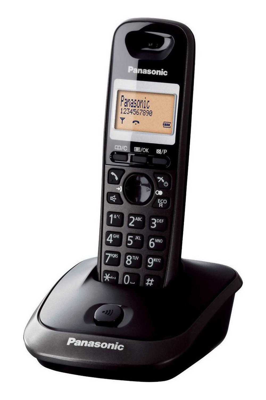 Ασύρματο Ψηφιακό Τηλέφωνο Panasonic KX-TG2511 (EU) Μαύρο