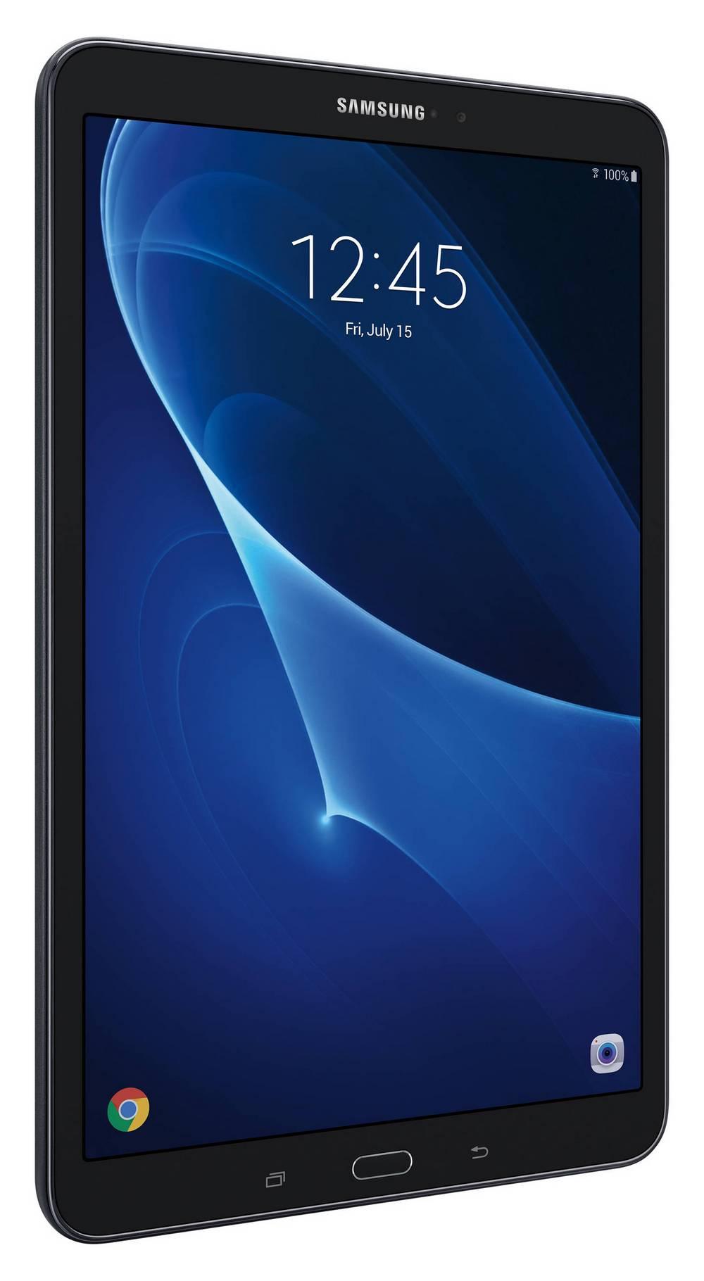 """Samsung Galaxy Tab A (2016) SM-T580 10.1"""" WiFi 16GB Μαύρο EU"""